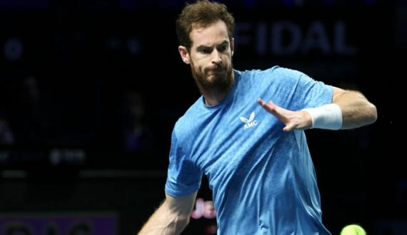 andy murray Tennis star out in Second round of san diego open