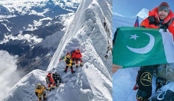pakistan mountaineer tanazy ki zad mein Manaslu choti aik bar phair sar karnay ka elan