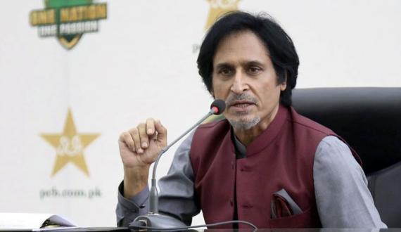 chairman pcb ramiz raja karachi pohanch gaye