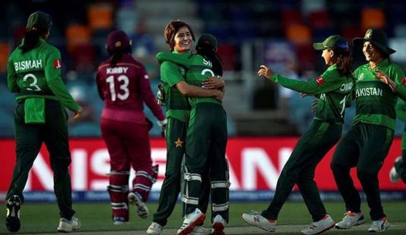 Pakistan and West indies women Teams series